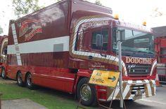 Fun Fair, Caravans, Old Trucks, Trailers, Transportation, British, Trucks, Hang Tags