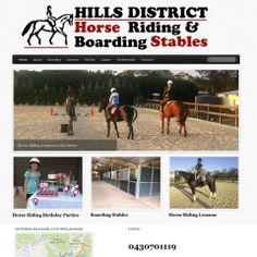 Horse riding website