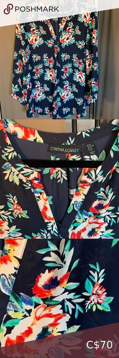 Floral blouse in bright vibrant colours This beautiful high-end blouse is perfect for any season and is the kind of item that will remain a staple in your wardrobe for years to come. Vibrant Colors, Colours, Floral Blouse, Men Casual, Blouses, Bright, Mens Tops, Beautiful, Things To Sell