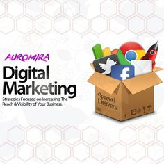Digital marketing services in Bhubaneswar offered by Auromira Films help to strategize and put proper measures into building the business for reaching out to a large number of targeted customers. Digital Marketing Strategy, Digital Marketing Services, Content Marketing, Marketing Branding, React App, Advertising Agency, Corporate Events, Social Media, Entertaining