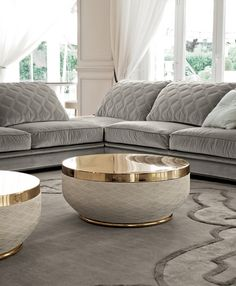 Those tables though..... Longhi Coffee Table // Download www.RoomHints.com/app for interior design
