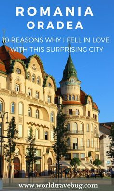 Filled with cafes, bars, restaurants and all kind of shops, you don't know what to admire first as you are making your way through the city centre of Oradea