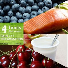 foods that reduce pain and inflammation.   #foodasmedicine