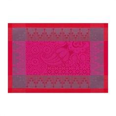 Set Palais Persan Hibiscus 54x38 100% coton