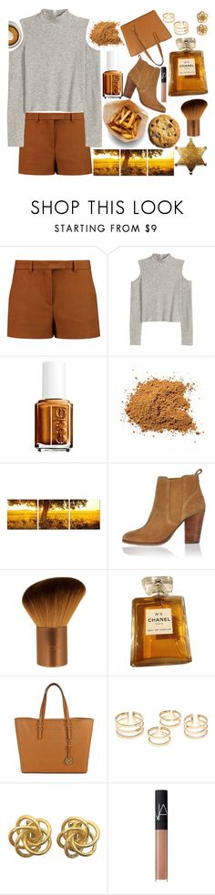 """""""My wish for you"""" by andreab6 ❤ liked on Polyvore featuring Emilio Pucci, H&M, Essie, Elementem Photography, River Island, EcoTools, Chanel, Michael Kors and NARS Cosmetics"""