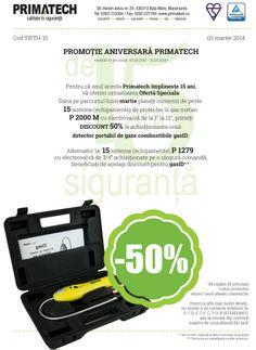 Promotie aniversara PRIMATECH