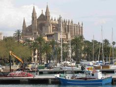 gothic cathedral on hillside - Google Search