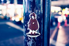 """I love this """"281_Anti Nuke"""" sticker that was found in #Harajuku. if only #SanAntonio did this..."""