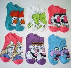 Muppets Ankle Socks: Random Selection