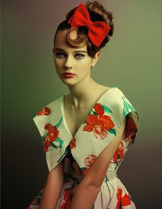 Model: Monika Jagaciak | Photographer: Baldovino Barani