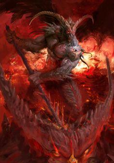 Demons by Manzanedo on @DeviantArt