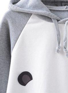 48ee6eb60d Futurino Damen Panda Tier Grau Sweatshirt Outerwear Top Warm  Kapuzenpullover Langarm Kapuzenjacke Strickjacke Hoodie: Amazon