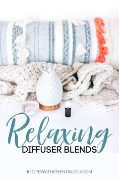These 11 Relaxing Essential Oil Diffuser Blend recipes can help promote a sense of calm and peace for the entire family. Kick back and sink into a moment of peace in your home. Essential Oil Diffuser Blends, Essential Oils, Diffuser Recipes, Fragrance, Essentials, Yoga Workouts, Young Living, Eos, Sink