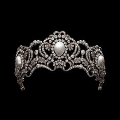 Belle Epoque Edwardian (19 century to 20 century early) Tiara of Habsburg princess Marie Valerie