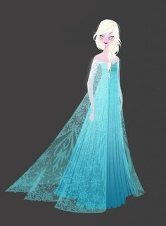 Some more of this stuff for you guys I got a lot of REPINS but anyway concept Art elsa