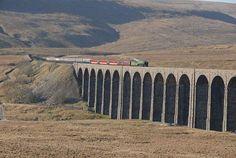 Ribblehead viaduct. Settle -Carlisle train line