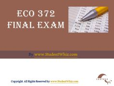There is also an added advantage to the ECO 372 Final Exam Latest 30 Questions With Answers. We have prepared an exclusive section for the students, which contain answers to some of the questions as examples. Finals Week College, Question And Answer, This Or That Questions, College Problems, Final Exams, Organic Chemistry, Law School, Students, Biotechnology