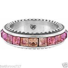 "Brighton ""Spectrum"" Ring PINK Size 7 NWT Retail $48"