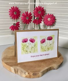 Hope your day is great!, Daisy Delight stamp set, Stampin' Up! card ideas
