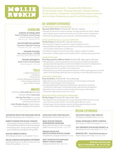 graphic design resume examples photography graphic design web tendencies inspiration roundups