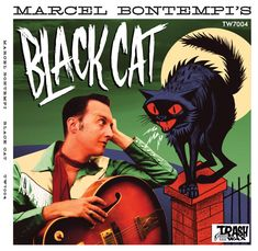 Marcel Bontempi - Black Cat at Discogs Marcel, Google Images, Album Covers, Graphic Design, Cats, Fitness, Movie Posters, Pictures, Black