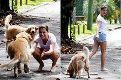 Alinne Moraes diva e dogs