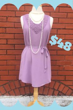 Lilac Mist Dress! $48 The color is just SO special! S-M-L