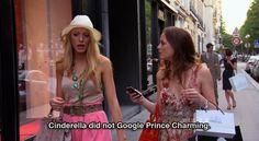 Serena e Blair. Paris. 4ª temporada de gossip girl. Quotes