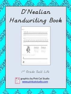 Amazing D&#39Nealian Handwriting Worksheet Maker