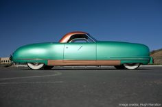 How I arrived in Reno that fateful Tuesday. Chrysler Thunderbolt (1941)