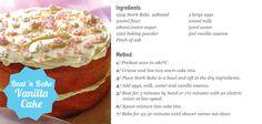 Beat 'n Bake Vanilla Cake! Stork Recipes, Cake Recipes, Cake Cookies, Cupcake Cakes, Carrot Cake Frosting, Beautiful Birthday Cakes, South African Recipes, Just Cakes, Holiday Cakes