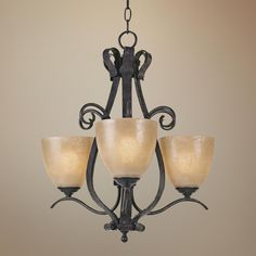 Modella Collection Three Light Chandelier