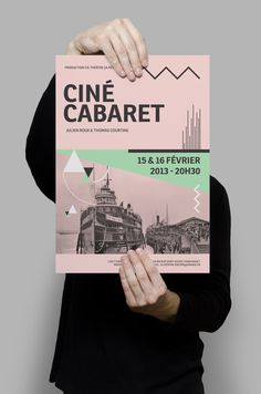 Ciné-Cabaret by Damien Raymond, via Behance