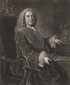 Folkes, Martin (1690-1754), painting by James Macardell, after Thomas Hudson mezzotint, late 1740s-1750s,11 7/8 in. x 9 3/4 in. (302 mm x 248 mm), London, National Portrait Gallery, purchased, 1966 (NPG D1979)