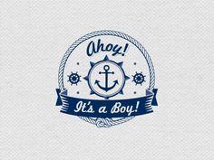 Ahoy it's a boy @Heather Creswell-Lynn Schreer