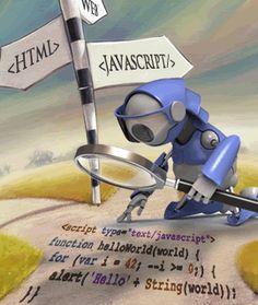Robot crawling Javascript...