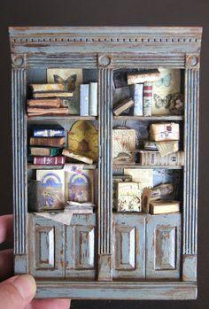Nono Mini Nostalgia, beautiful library bookcase by Charles Twylla