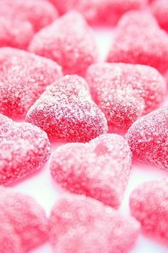Valentine's Day Gift. Pink Candy Hearts for your Valentine.