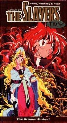 The Slayers Try - The Dragon Shine (1997) - English subtitles [VHS] $3.95