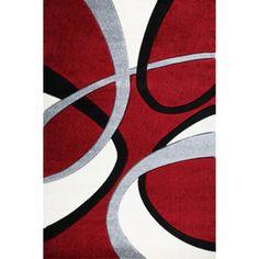 Moderní kusový koberec Nairobi 094A červený Typ: 60x110 cm Kids Rugs, Design, Home Decor, Homemade Home Decor, Kid Friendly Rugs, Design Comics, Decoration Home, Nursery Rugs
