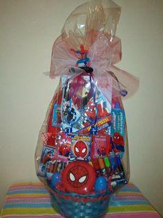 Diy spiderman easter basket pinterest easter baskets spiderman spiderman easter basket cabe found at debs creations at facebookdebscreationc2014 negle Gallery