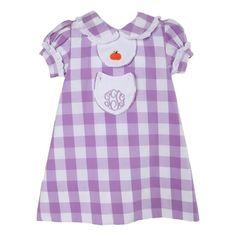 3b497144e Purple Check Pumpkin Tab Dress by Cecil and Lou Little Boys, Fall Outfits,  Purple