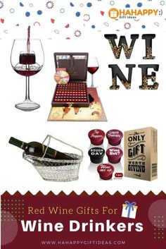 Red wine gifts for wine drinkers
