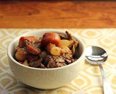 Slow cooker honey Sriracha beef stew recipe - The Perfect Pantry