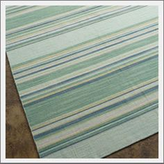 Coastal Living Kiawah Rug. From the Coastal Living collection, inspired by the magazine, the hand-spun dhurrie rug in a flat woven New Zealnd wool provides a versatile, casual covering for your floors.