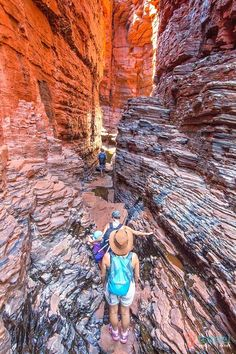 We fell in love with Karijini National Park. I now know why everyone said this was their favourite place in Australia. Come and see why. Perth, Brisbane, Melbourne, West Coast Australia, Visit Australia, Western Australia, Australia Travel, Beautiful Places To Visit, Places To See