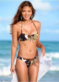 Underwired bikini, A cup brown - Sports & Swimwear - bonprix.co.uk