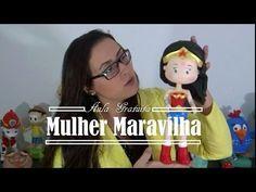 "Aula ""Mulher Maravilha"" - Massas para Biscuit Raquel Fontinele - YouTube"