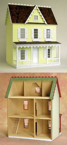 Sometimes I want to build a dollhouse and move into it.