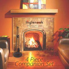 Inglenook 5 Piece Brass Fireplace Companion Set FIRE35